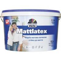 Интерьерная латексная краска DUFA Mattlatex D100, 10л / 14кг