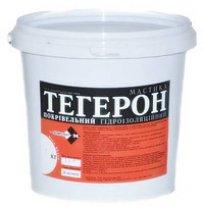 Мастика ТЕГЕРОН 6 кг кровельная, гидроизоляционная
