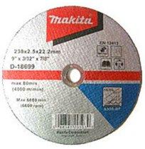 Диск отрезной по металлу Makita 230х2,5х22
