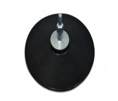 Диск для дрели резиновый с липучкой 125 мм.