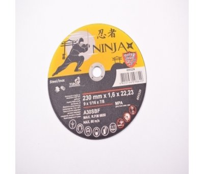 Круг зачистной по металлу 230 х 6,0 х 22 Ninja