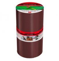 Лента битумно-полимерная 10 см х 3 м коричневая.