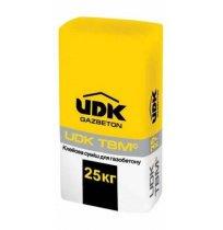 Клей для газобетона UDK зимний, 25 кг.