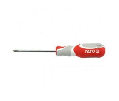 Отвертка крестовая Yato PH2, l = 100мм
