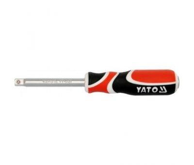 """Ручка с соединением под головки Yato М = 1/4"""" l = 150"""