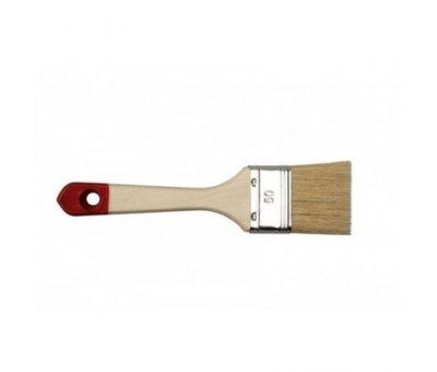 """Кисть HARDEX № 40  1.5"""" (натуральный ворс) деревянная ручка"""