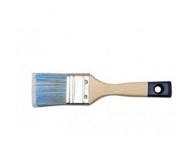 """Кисть HARDEX №41 3"""" (натуральный ворс + полиэстр) деревянная ручка"""