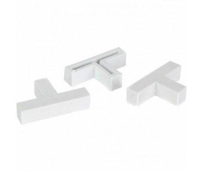 Крестики дистанционные Т образные 6 мм, 30шт