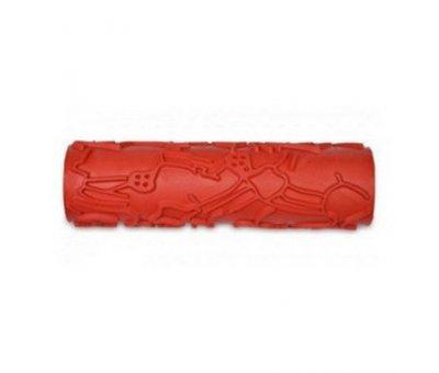 Валик структурный резиновый №51, каркас 180 мм.