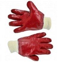 Перчатки резиновые маслостойкие с манжетой, нитрил, Technics