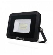 Прожектор 30W 6400K IP65 Feron черный