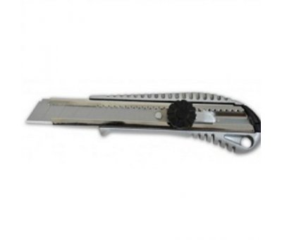 Нож упрочненный, металлический, 18 мм, FAVORIT Elite