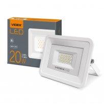 Прожектор 20W 5000K IP65 Videx белый