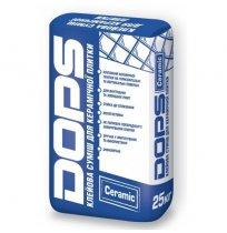 Клей для плитки DOPS Ceramic Полипласт 25кг