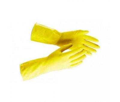Перчатки резиновые с напылением, L HARDY