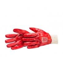 Перчатки рабочие ХL с ПВХ-улучшенные промышленные HARDY