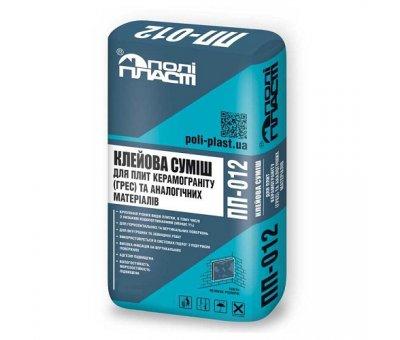 Клей для керамогранита (ГРЭС) ПП-012 Полипласт 25кг
