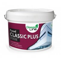 Фасадная краска акриловая Fasad Classic Plus, 10л