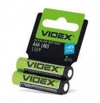 Батарейка щелочная Videx AAА / LR03 1,5 V (2шт)