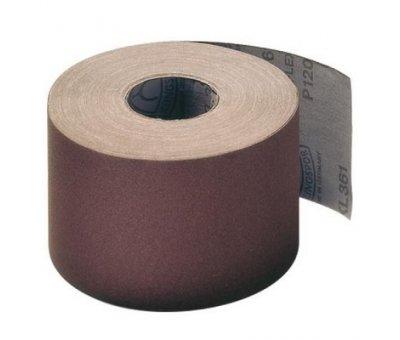Бумага наждачная на тканевой основе 200 мм № 80 (1м / п)
