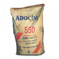 Цемент ПЦ-550 25кг ADOCIM (Турция)