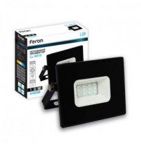 Прожектор 10W 6400K IP65 Feron черный