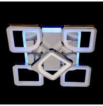 Светодиодная люстра 110W 8060/4+1 WH LED 3color