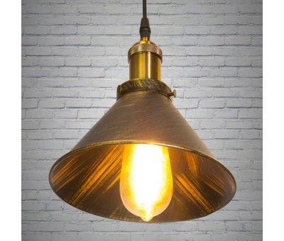 Светильник потолоный подвесной 6855-210-BK-G