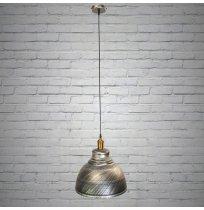 Светильник потолоный подвесной 6858-360BK-SV