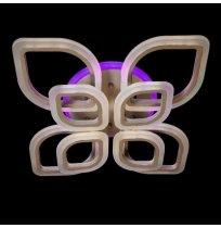 Светодиодная люстра 145W A8073/4+4WH LED 3color