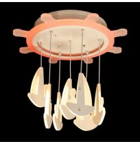 Светодиодная люстра 95W 8162/500WH LED dimmer