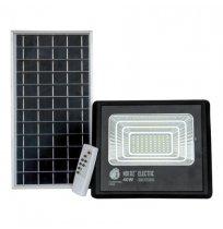 Прожектор 40W+солнеч.бат 6400K IP65 Horoz черний