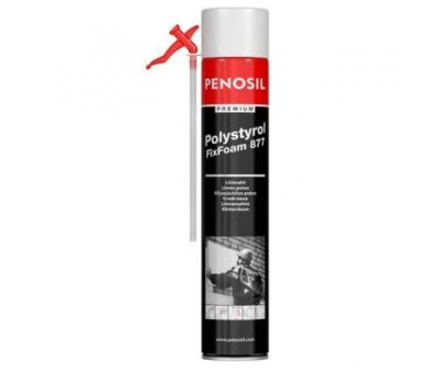 Пена-клей PENOSIL Polystyrol FixFoam PRO